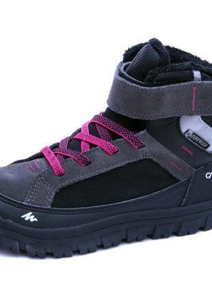 Ботинки quechua warm scratch. eврозима. cтелька 20 см
