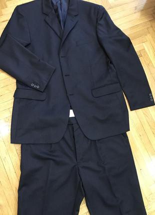 Идеальный классический деловой костюм burton англия италия