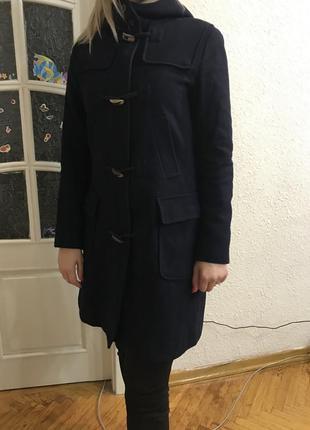 Пальто шерсть женское united colours of benetton