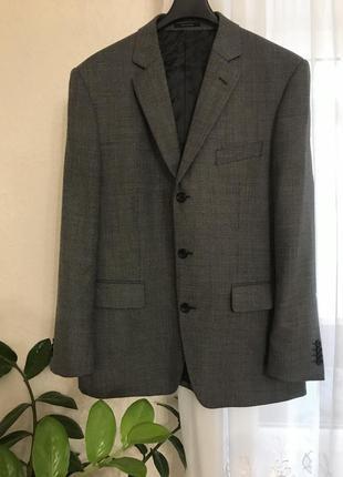 Стильный фирменный классический пиджак бренд christian berg m-l