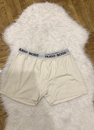 Мужские трусы боксеры фирменные бренд hugo boss xxl