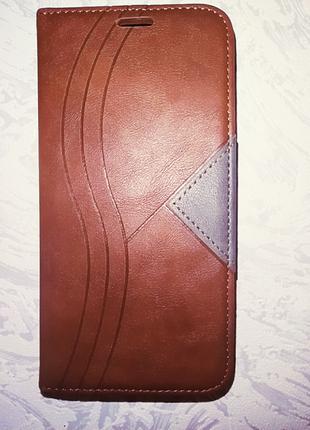 Чехол книжка для xiaomi redmi note 8t на магните. ноут 8т
