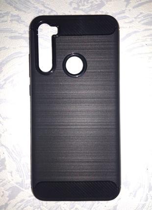 Redmi note 8т черный чехол бампер