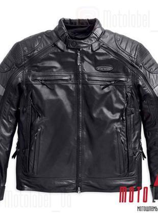 Куртка кожаная Harley-Davidson Switchback FXRG Triple Vent Sys...