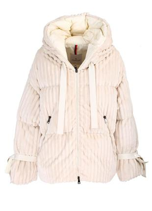 ❤️ ❄️ moncler куртка пуховик на искусственном...