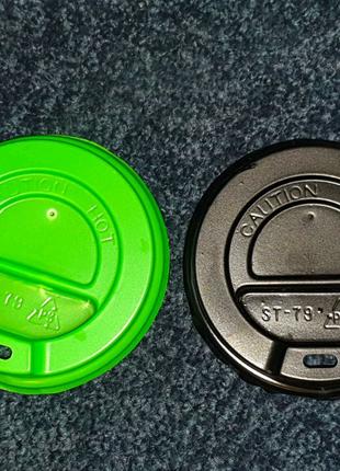 Пластиковые крышки для кофейных стаканов