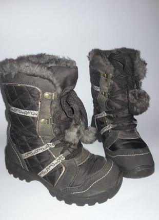 Ботиночки на холодную погоду. евро зима.