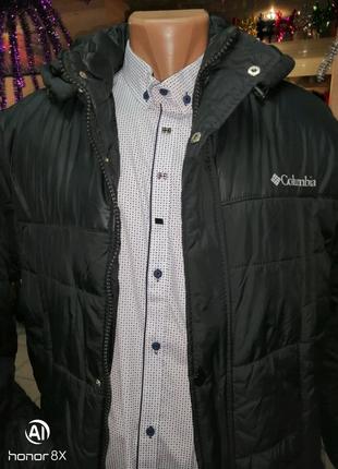 Парка куртка мужская COLUMBIA