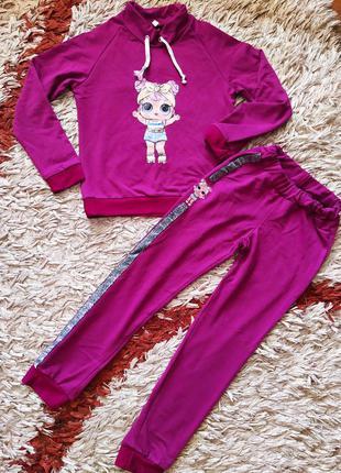 Спортивный костюм комплект для девочки. 146-152р.