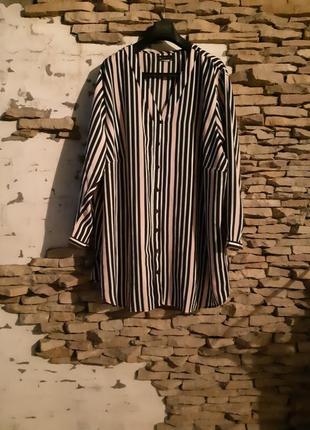Роскошная удлинённая рубашка 👕 туника большого размера
