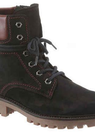 Кожаные утепленные ботинки Gabor 36р.