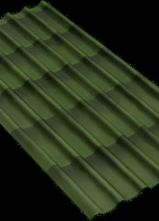 Ондулин-черепица 2, 0х0, 95 м с 3D эффектом зеленый, красный