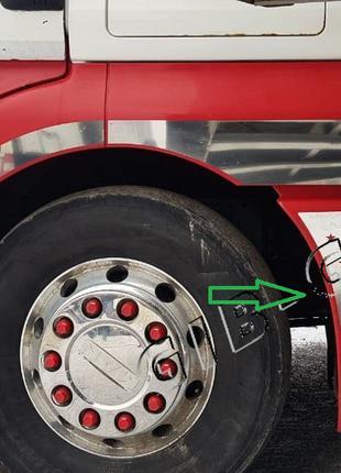 *Накладки на заднюю колесную арку Man TGX(Комплект 2 шт)