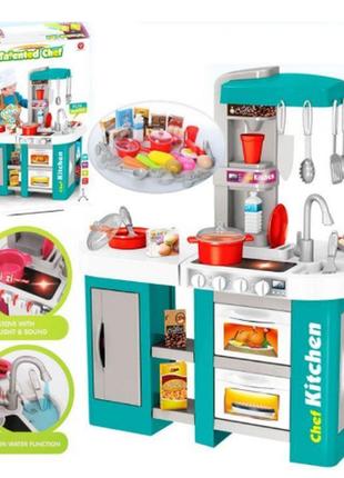 Детский игровой набор кухня kitchen set 922-46гб с водой