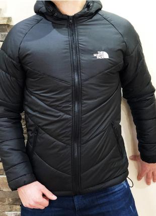 Мужская куртка черная осенняя