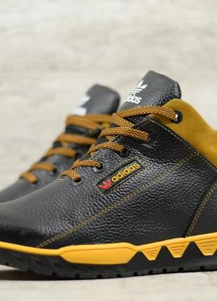Натуральная кожа мужские зимние кожаные тактические ботинки на...