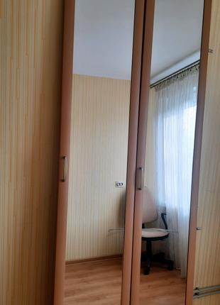 Двери до шкафа,  кладовки, с дзеркалами и фурнитурой