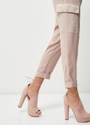 River island замшевые босоножки сандали туфли