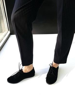 Туфли на шнурках оксфорды