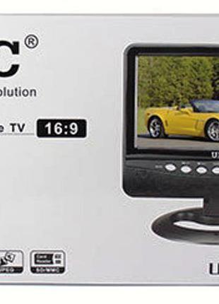 Портативный жк телевизор UKC UK-701, автомобильный телевизор