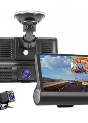 Видеорегистратор XoKo DVR-300, авторегистратор  3 камеры