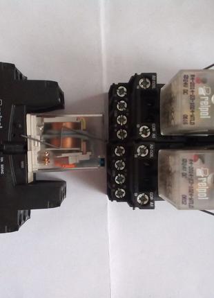 Реле r4-2014-23-1024 с колодкой gzt3