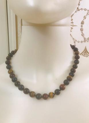Бусы/ожерелье с натуральными камнями ZARINA