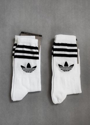 Высокие носки Adidas / спортивные носки / адидас
