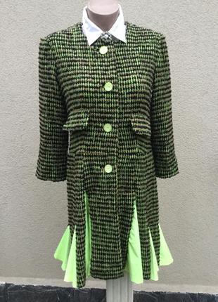 Эксклюзив,легкое пальто,удлинён.жакет,пиджак,платье букле с кл...