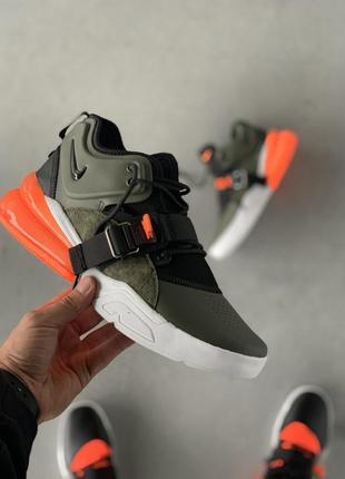 Nike air force 270 green camo. 🔥мужские хайтопы найк, кожаные ...
