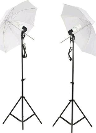 Студийный свет. Штатив, зонт, держатель.