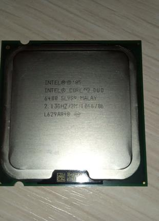 Процессор Intel Core 2 Duo E6400 2,13 ГГц (L629A848, SL959)