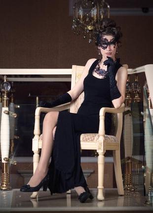 Черное платье, костюм Дамы в черном, незнакомки