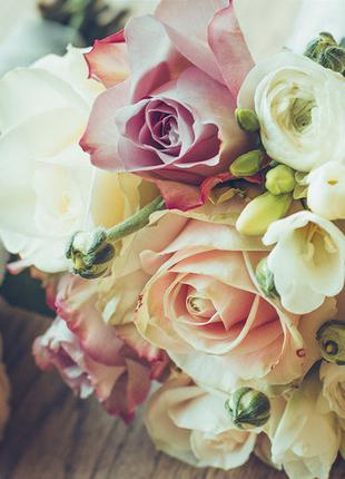 Фотообои Престиж Букет роз №46 влагостойкие