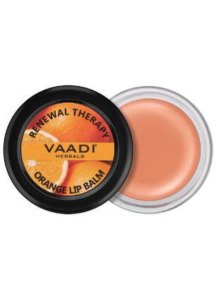 Бальзам для губ с ароматом апельсина и маслом ШИ (VAADI herbals)
