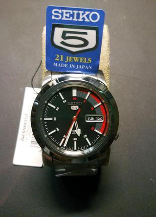 SEIKO 5 Automatic (Japan)  мужские механические часы Новые!