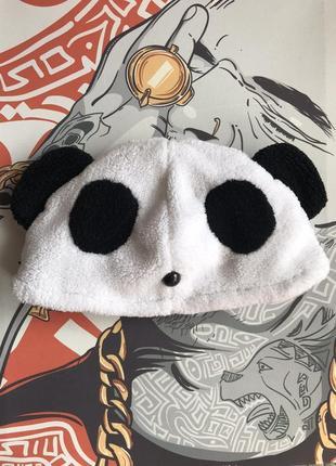 Шапка панда прикольная