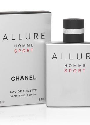 Chanel allure homme sport туалетная вода