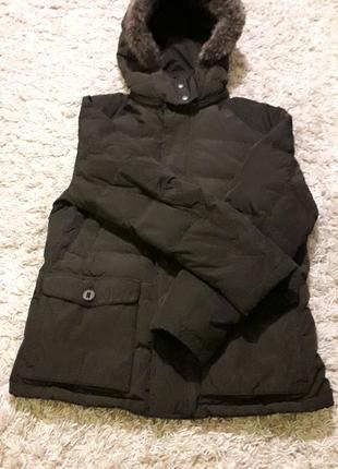 Брендовая зимняя мужская куртка фирмы Massimo Dutti,оригинал, б/у