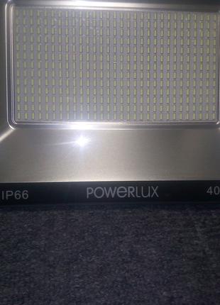Светодиодный прожектор 400w powerlux