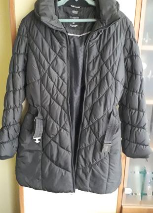 Брендовая зимняя женская куртка-пальто немецкой фирмы Street One