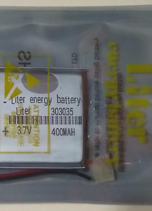 Аккумулятор универсальный LI-ION 303035 литий-полимерный 3.7v 400