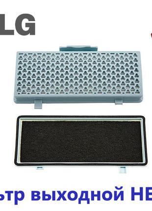Фильтр выходной HEPA13 для пылесоса LG код ADQ68101903