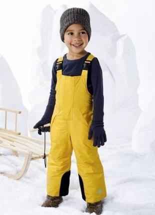 Лыжный полукомбинезон термокомбинезон штаны lupilu, 86-92