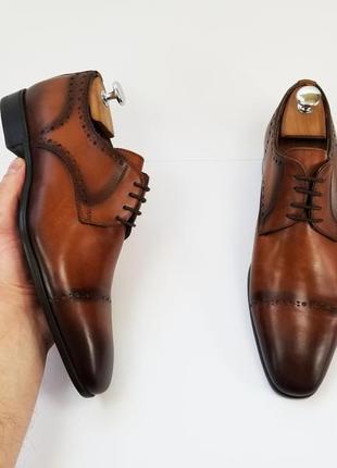Мужские туфли броги туфлі чоловічі