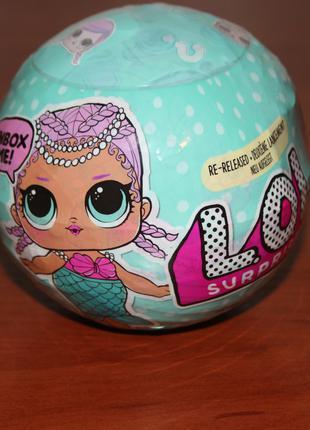 Кукла lol Surprise Merbaby шар лол 1 серия перевыпуск 2020
