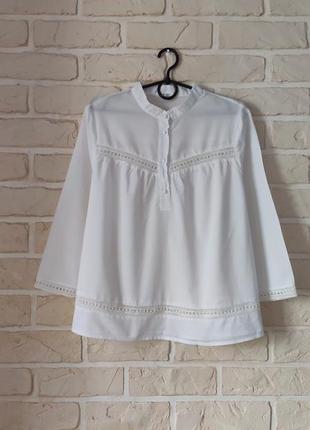 Лёгкая, натуральная рубашка свободного кроя