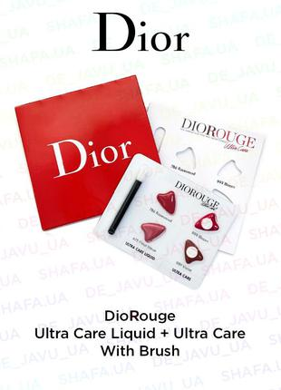 Пробник christian dior rouge ultra care liquid : помада для гу...