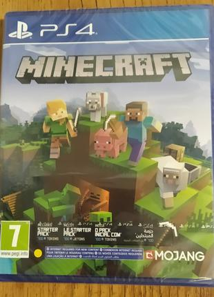Игра Minecraft Bedrock Edition (PS4) - CUSA 17908 (рус. суб)