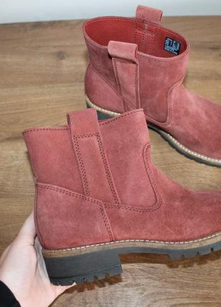 Замшевые ботинки ecco elaine, 38 размер